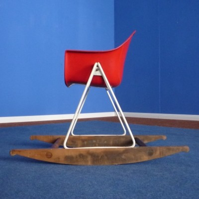 Rocking Chair children furniture from the fifties by Walter Papst for Wilkhahn