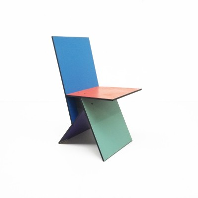 Vilbert dinner chair from the nineties by Verner Panton for Ikea