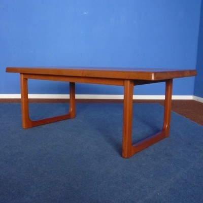 Danish Teak Coffee Table by Niels Bach