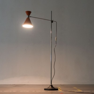 Diabolo floor lamp from the fifties by unknown designer for Herda