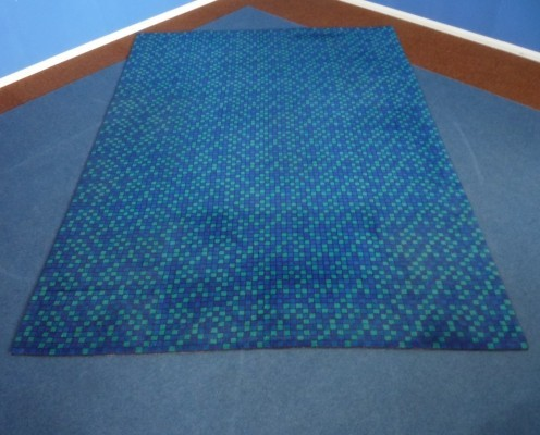 Op-Art XXL Carpet-Rug from the sixties by unknown designer for unknown producer