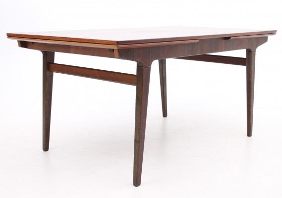 Extension dining table from the sixties by unknown designer for Slagelse Møbelværk