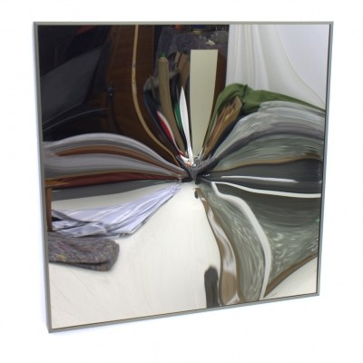 KX 77 Konvex mirror from the eighties by Victor Bonato for unknown producer