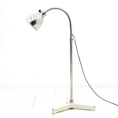 Christian Dell Floor Lamp with Gooseneck, 1930s