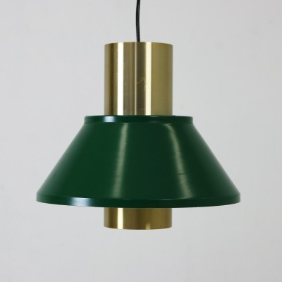 Jo Hammerborg stunning pendant light in green