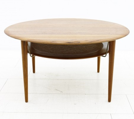 FD 515 coffee table by Peter Hvidt & Orla Mølgaard Nielsen for France & Son, 1950s