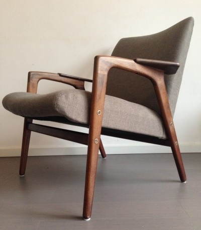 Ruster arm chair by Yngve Ekström for Pastoe, 1950s