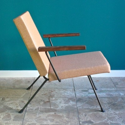 Model 1409 arm chair from the fifties by André Cordemeyer for Gispen