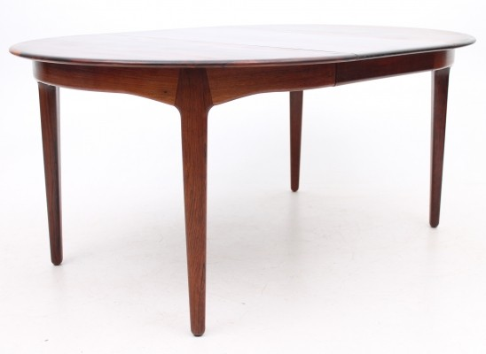 Dining table from the sixties by Henning Kjærnulf for Sorø Stolefabrik