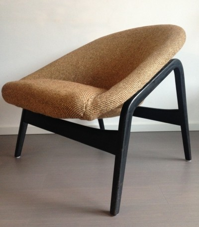 Columbus lounge chair from the fifties by Hartmut Lohmeyer for Artifort