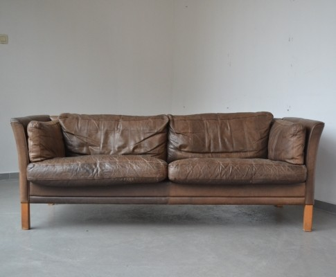 MH2225 sofa from the sixties by Mogens Hansen for unknown producer