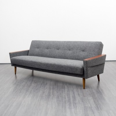 Fold-out sofa from the sixties by unknown designer for unknown producer