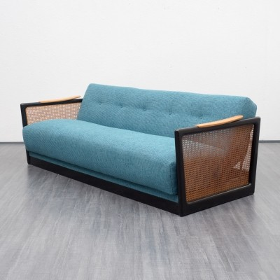 Fold-out sofa from the fifties by unknown designer for unknown producer