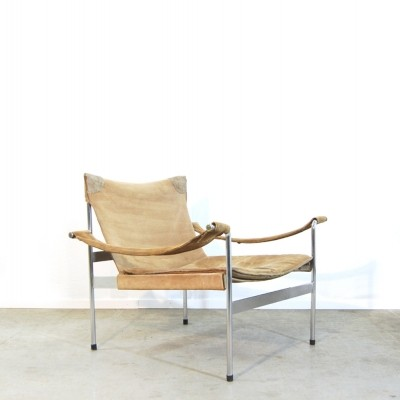D 99-L arm chair from the sixties by Hans Koenecke for Tecta