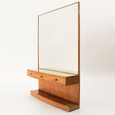 Mirror from the forties by unknown designer for unknown producer