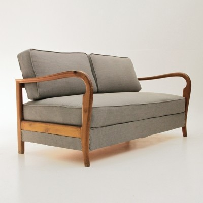 Sofa from the forties by unknown designer for unknown producer