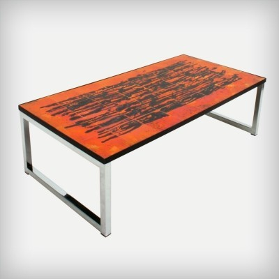 Coffee table from the sixties by J. Belarti for unknown producer