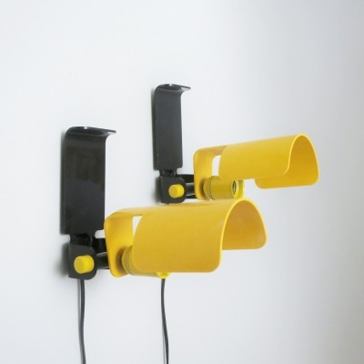 Pair of wall lamps by G. Galizzi for Lamperti, 1970s