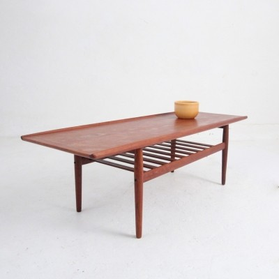 Coffee table by Grete Jalk for Glostrup Møbelfabrik, 1950s