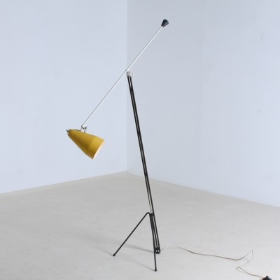 6320 Grasshopper floor lamp from the fifties by Wim Rietveld for Gispen