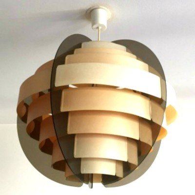 Hanging lamp by Morten Goettler for Schmidt, 1970s
