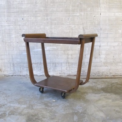 Serving trolley from the fifties by Cees Braakman for Pastoe