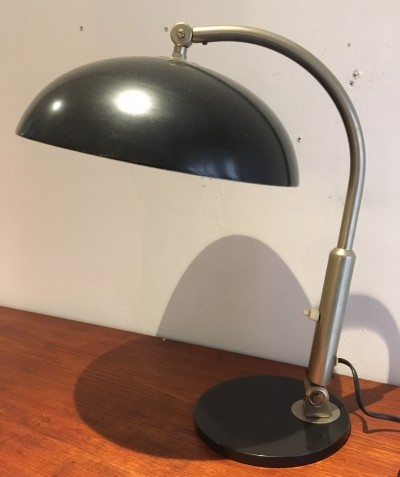 Model 144 desk lamp from the forties by H. Busquet for Hala Zeist