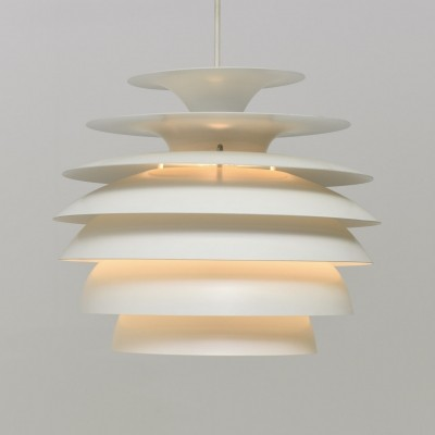 Barcelona hanging lamp from the sixties by Bent Karlby for Dema