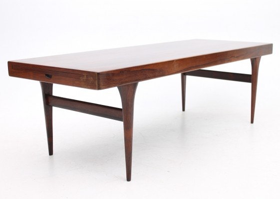 Formica tray model coffee table from the sixties by Johannes Andersen for CFC Silkeborg