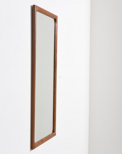 Mirror from the fifties by Kai Kristiansen for Aksel Kjersgaard