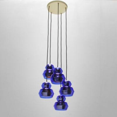Hanging lamp from the sixties by unknown designer for Vetri Murano