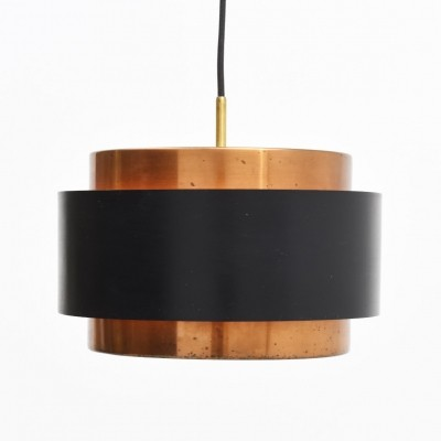 2 Saturn hanging lamps from the fifties by Jo Hammerborg for Fog & Mørup