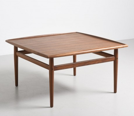 Large side table by Grete Jalk for Glostrup Møbelfabrik, 1950s