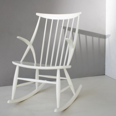 Danish Rocking Chair by Illum Wikkelsø