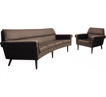 Seating group from the fifties by unknown designer for unknown producer