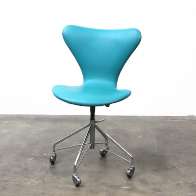 7 Serie office chair from the fifties by Arne Jacobsen for Fritz Hansen