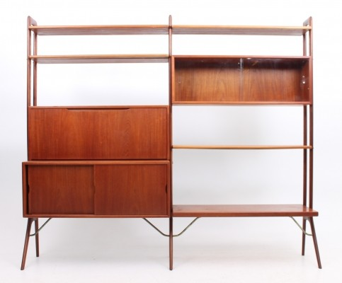 Set of 2 wall units from the fifties by Kurt Østervig for KP Møbler