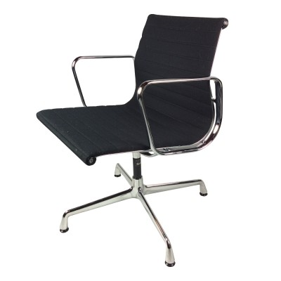 12 x EA 108 office chair by Charles & Ray Eames for Vitra, 1950s