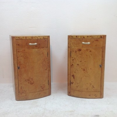 Set of 2 cabinets from the thirties by unknown designer for Wesply