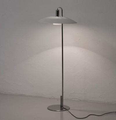 Floor lamp from the seventies by Borge Lindau & Bo Lindekrantz for Zero