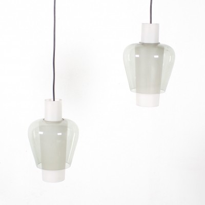 2 Suomi hanging lamps from the sixties by Tapio Wirkkala for unknown producer