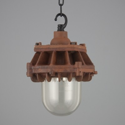 3 hanging lamps from the forties by unknown designer for Revo