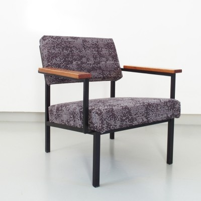 36DLA lounge chair from the sixties by Gijs van der Sluis for Van der Sluis Stalen Meubelen