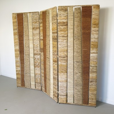 Folding screen from the sixties by unknown designer for unknown producer
