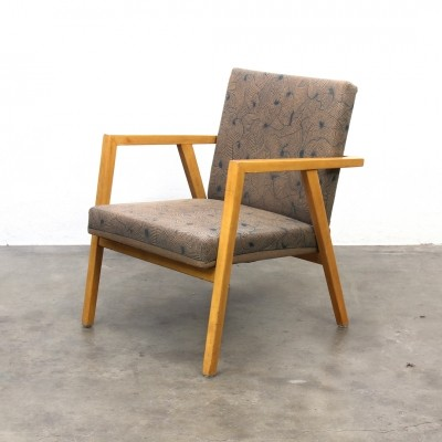 Teak Wood Arm Chair from the sixties, Kvadrat Hallingdal