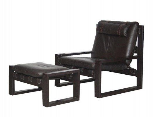 Lounge chair from the seventies by Sonja Wasseur for unknown producer