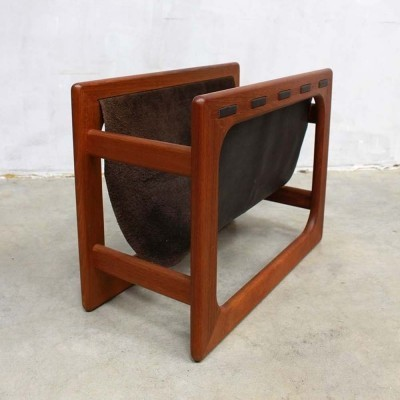 Magazine holder from the sixties by unknown designer for Salin Mobler