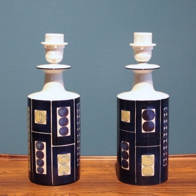 Set of 2 desk lamps from the sixties by Inge Lise Koefoed for Fog & Mørup