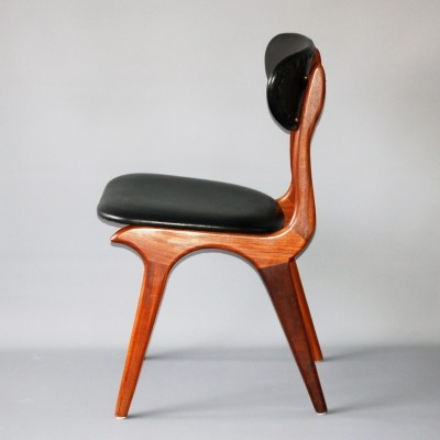 2 x dinner chair by Louis van Teeffelen for Wébé, 1960s