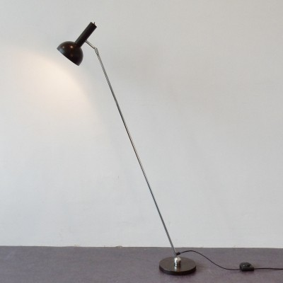 2 floor lamps from the seventies by H. Busquet for Hala Zeist
